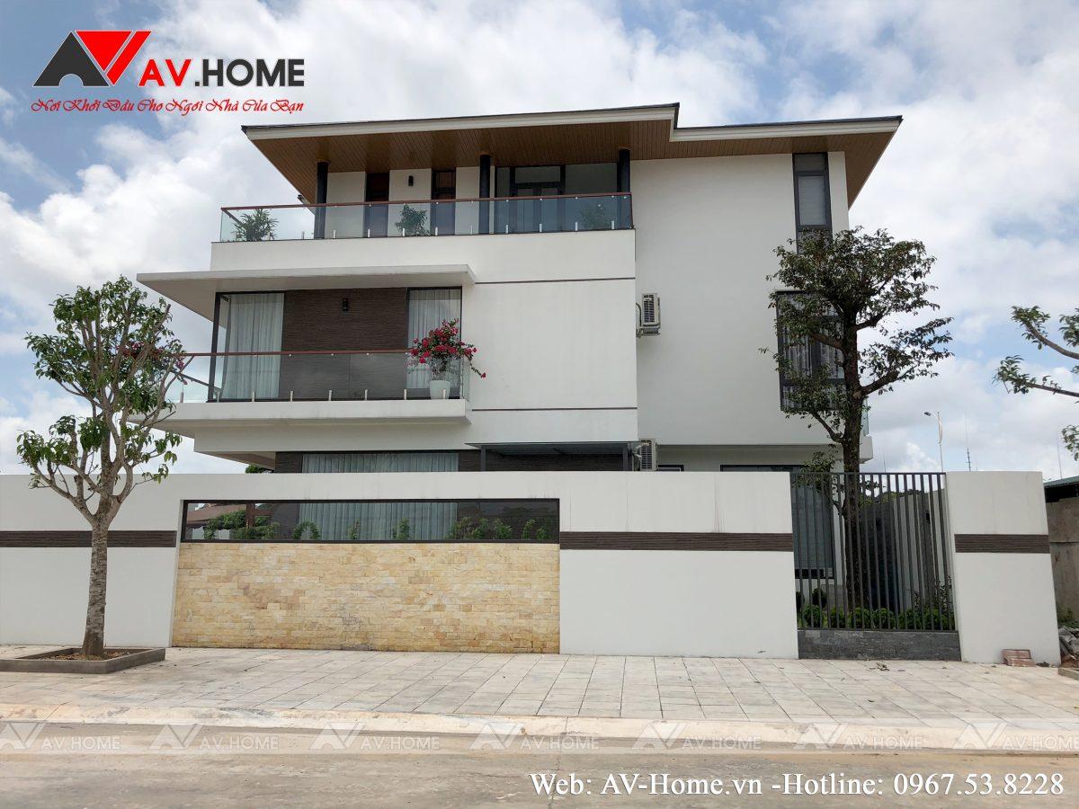 Biệt thự 3 tầng phong cách hiện đại Móng Cái – Quảng Ninh
