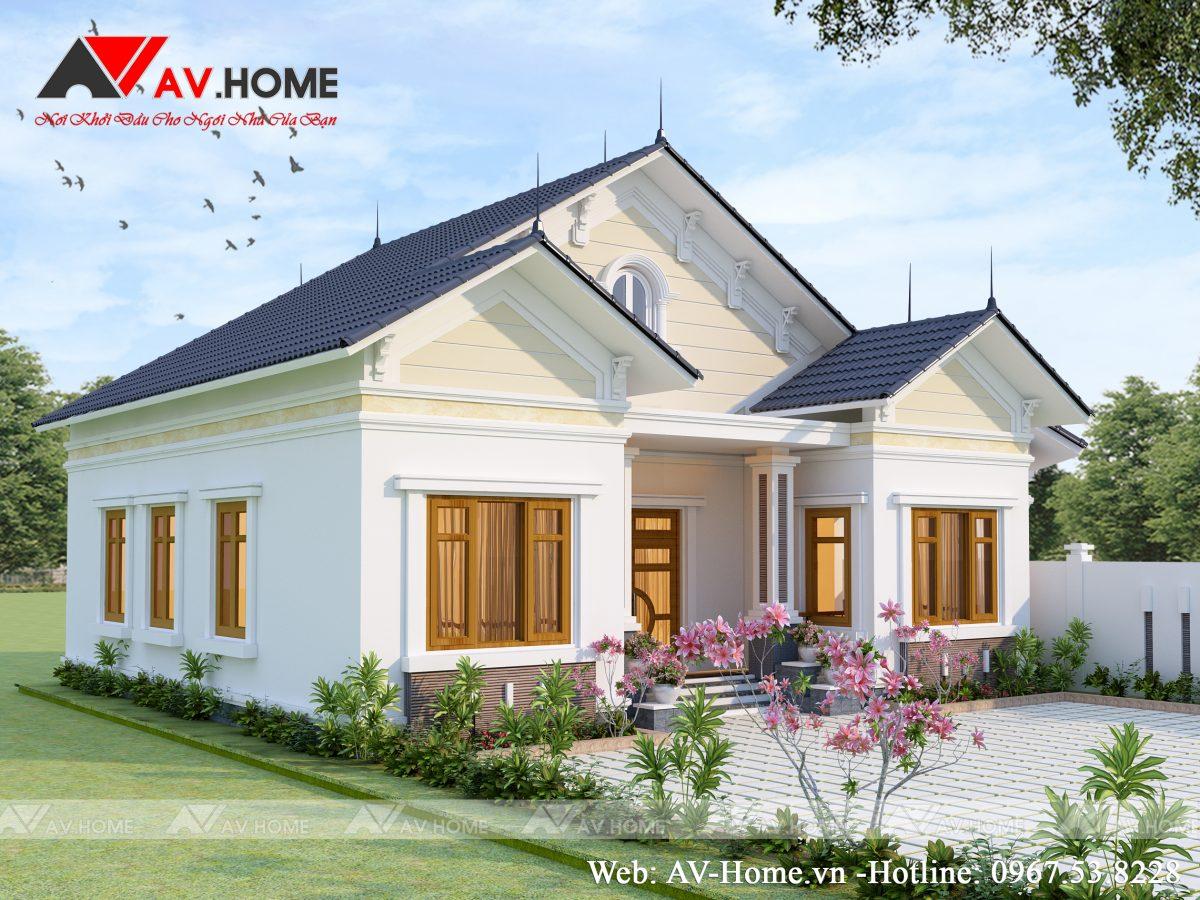 Mẫu biệt thự nhà vườn sang trọng tại Phú Thọ – BT1005